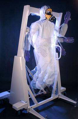 Torn Clothing Photograph - Protective Clothing Testing by Crown Copyrighthealth & Safety Laboratory