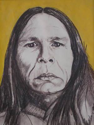 Drawing - Proud American by Barbara Prestridge