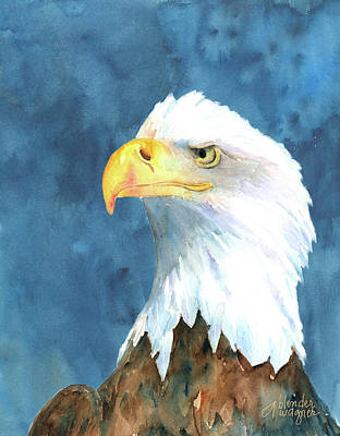 Eagle Painting - Proud Eagle by Arline Wagner