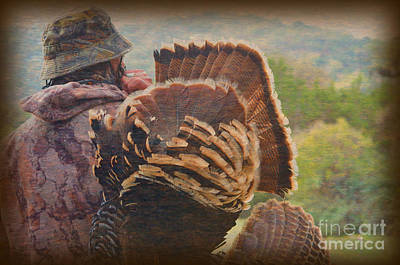 Photograph - Proud Turkey Hunter by Donna Greene