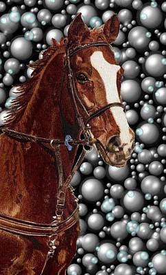 Painting - Proud With Bubbles by Patricia Barmatz