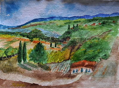 Painting - Provence Colors by MaryAnne Ardito