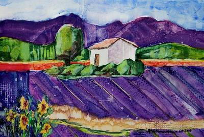 Painting - Provence by Regina Ammerman