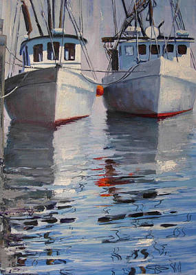 Painting - Provincetown Fleet by Michael Cranford