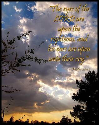 Photograph - Psalm 34 Fifteen by Glenn McCarthy Art and Photography