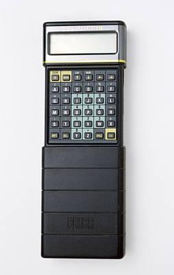 Slider Photograph - Psion II Organiser by Victor De Schwanberg