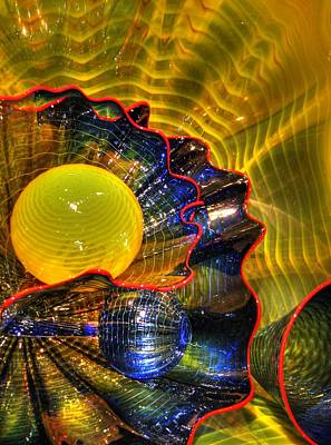 Photograph - Psychedelic by Chris Anderson