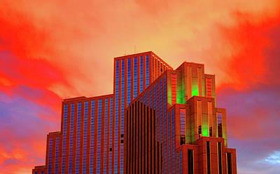 Psychedelic Reno Sunset Original