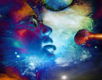 Digital Art - Psychedelic Soul 1 by Dylan Chambers