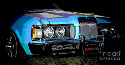 Tricked-out Cars Photograph - Psycho Cougar by Chuck Re