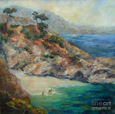 Painting - Pt Lobos View by Carolyn Jarvis