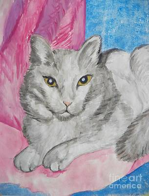 Painting - Ptg.  Milo by Judy Via-Wolff