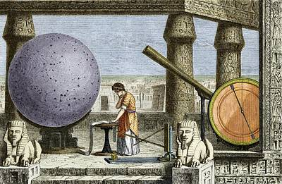 Ptolemy's Observatory, 2nd Century Ad Art Print by Sheila Terry