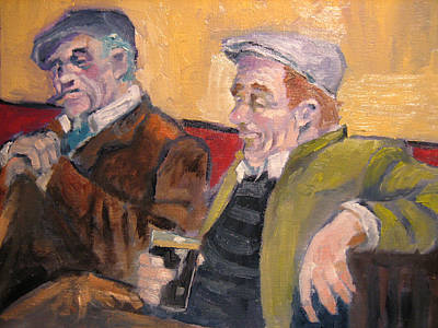 Painting - Pub Scene by Kevin McKrell