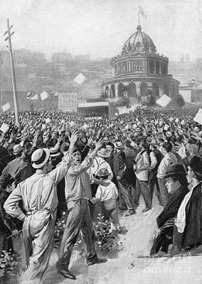 Public Acclamation, 1895 Art Print by Granger