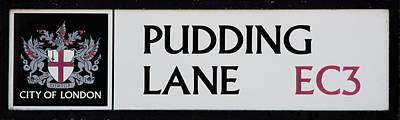 Pudding Lane Art Print by Dawn OConnor