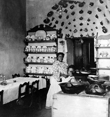Mexicano Photograph - Puebla Mexico - Restaurant -  C 1908 by International  Images