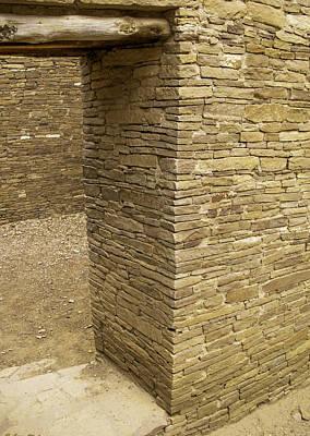 Chaco Culture Nhp Photograph - Pueblo Bonito by Leroy McLaughlin