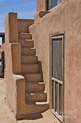 Acoma Photograph - Pueblo Steps by David Pettit
