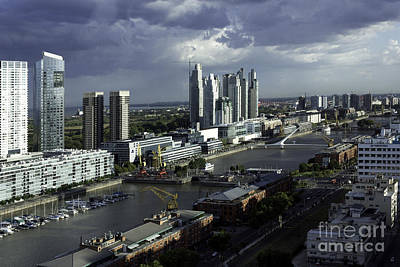 Photograph - Puerto Madero by Balanced Art