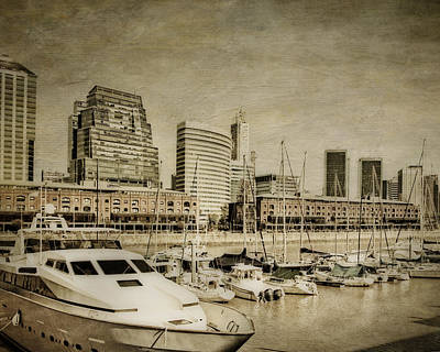 Farmhouse Rights Managed Images - Puerto Madero Royalty-Free Image by Diane Dugas