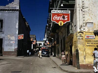 Puerto Rico. Street In San Juan, Puerto Art Print by Everett