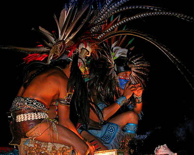 Photograph - Puerto Vallarta Dancers 2 by Cindy Wright