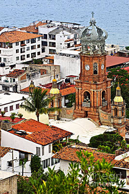 Puerto Wall Art - Photograph - Puerto Vallarta by Elena Elisseeva