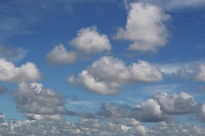 Puff Clouds Art Print by Nick  Shirghio