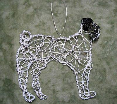 Pug Art Print by Charlene White