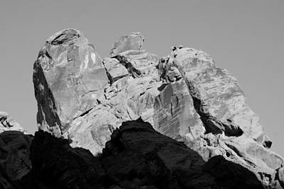 Photograph - Pug Face Mountain by Florene Welebny