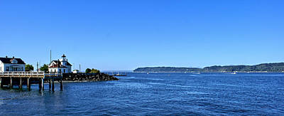 Art Print featuring the photograph Puget Sound Light Hosue by Rob Green