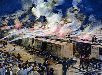 Photograph - Pullman Strike, 1894 by Granger