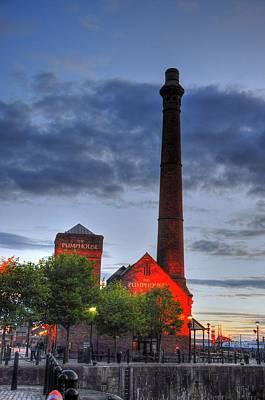 Pump House Liverpool Art Print by Barry R Jones Jr
