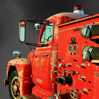 Pumper No. 2 - Retired Art Print by Betty Northcutt