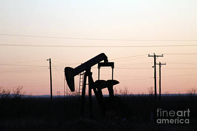 Photograph - Pumpjack No 1 by Alycia Christine