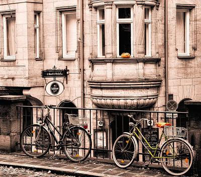 Photograph - Pumpkin And Bicycles by Ari Salmela