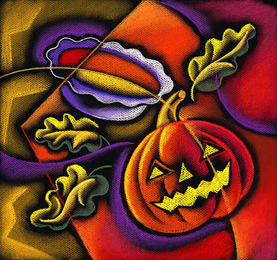Pumpkin Fun Original by Leon Zernitsky