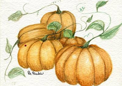 Pumpkin Time Art Print