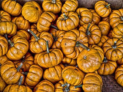 Photograph - Pumpkins by Bennie Reynolds