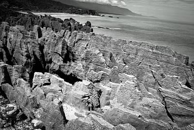 Photograph - Punakaiki Rocks 2 by Jonathan Hansen