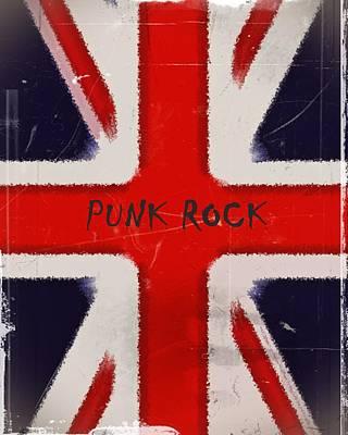 Punk Rock Art Print by Sharon Lisa Clarke