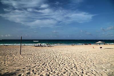 Photograph - Punta Cana Blue Sky by John Rizzuto