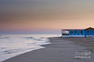 Punta Secca Sunset Art Print by Roberto Bettacchi