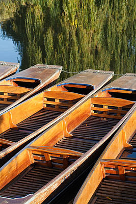 Photograph - Punts For Hire by Ian Merton