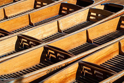 Photograph - Punts by Ian Merton