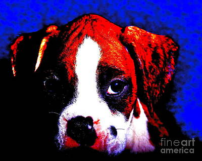 Pup1 Art Print by Xn Tyler