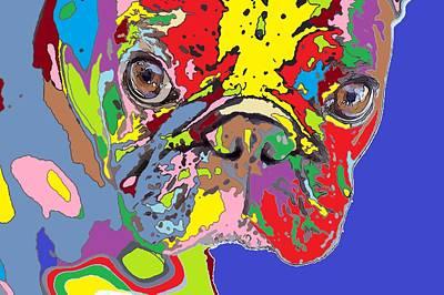 puppy Portrait 5 Print by Adrian Tovnodtov