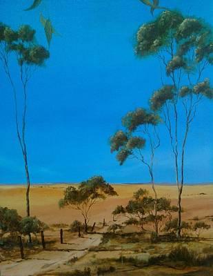 Paul Morgan Painting - Pure Australia by Paul Morgan