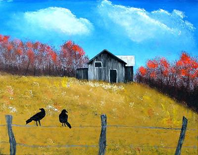 Pure Country Art Print by Linda Brown